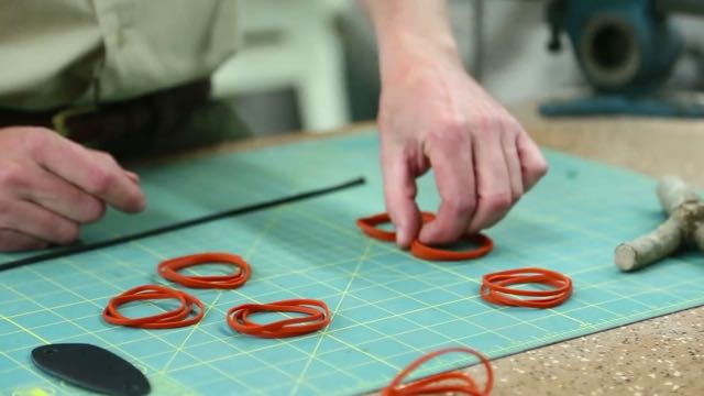 Chained Rubber Band Slingshot Bands Tutorial