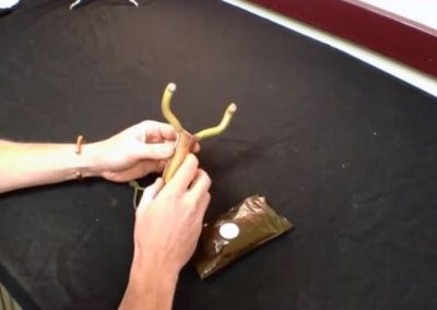 How to Attach Flatbands to a Wire Frame Slingshot