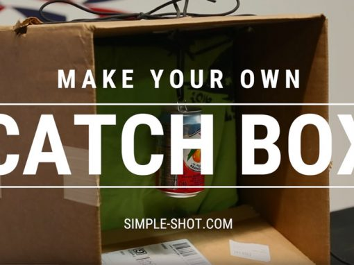 Make your own slingshot catchbox