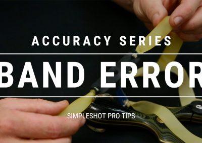 Pro Tip – Band Error?